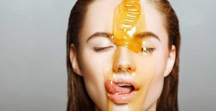 honey face mask for glowing skin