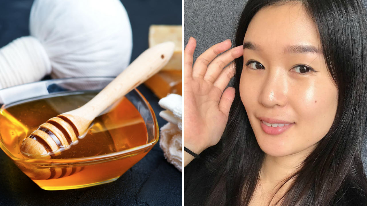 Cleaning and moisturizing with honey