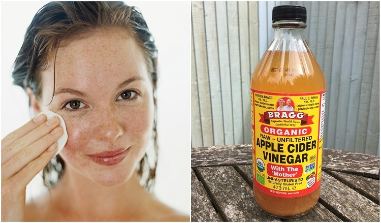 Deep cleaning with apple cider vinegar