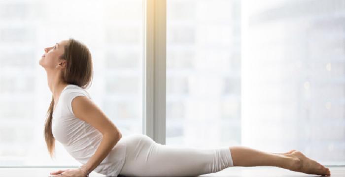 Yoga pose for sciatica