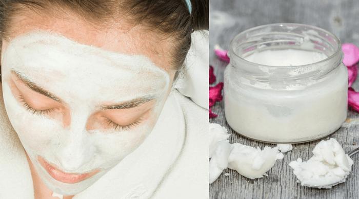 Coconut oil for radiant skin