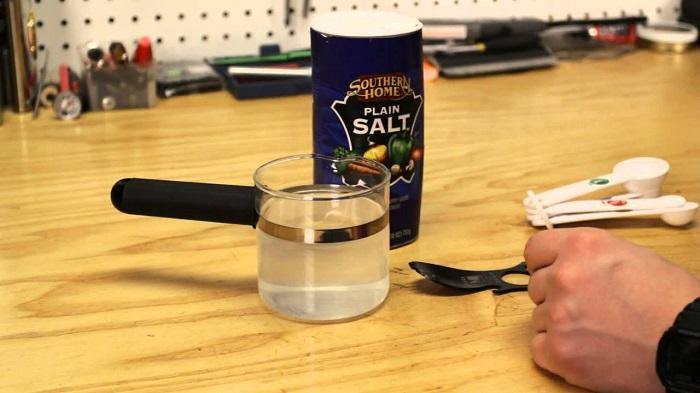 how to make homemade saline